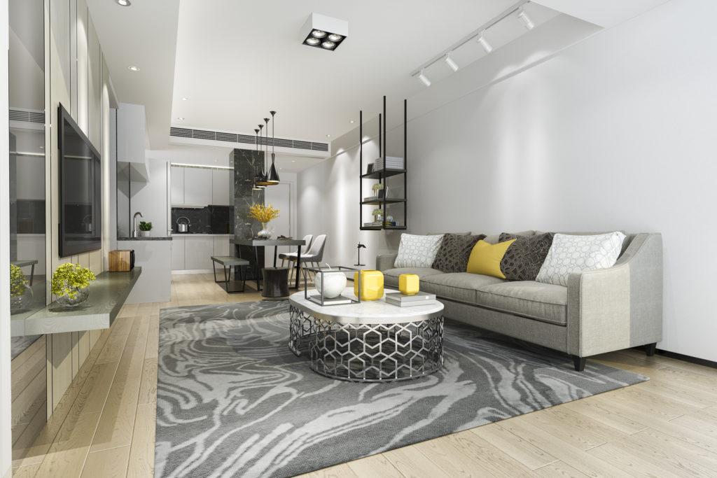 Aranżacja funkcjonalnego mieszkania