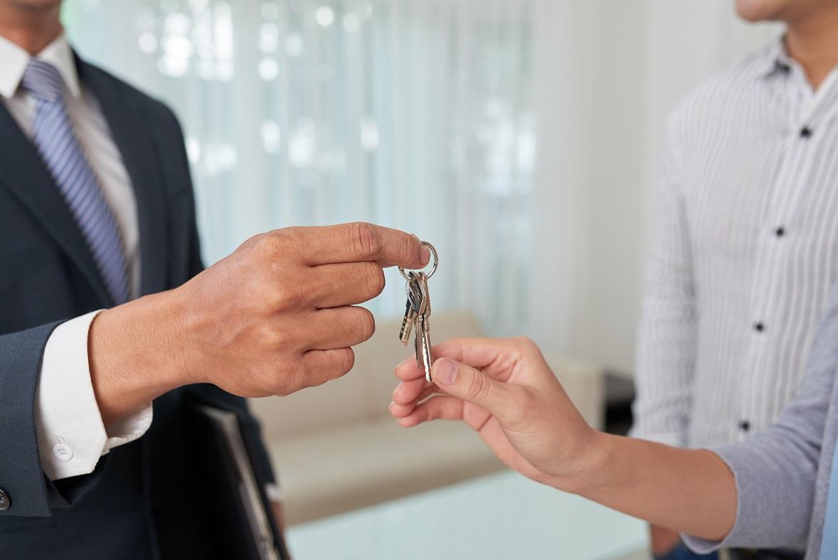 zakup mieszkania - klucze